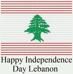 Happy Independence Day Lebanon by DarkVampirequeen9
