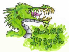 Swamp Dragon by qwerty1198
