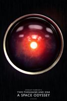 ''2001: A Space Odyssey'' poster (VARIANT) by AndrewSS7