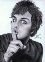 Billie Joe Armstrong by evelinappm