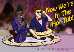 The Doctor is Dying: SNL Photo Bomb by Gazelle1583