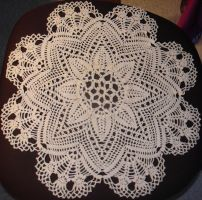 Flower doily by Diddune