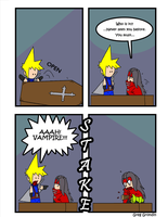 Final Fantasy Parody Comic 3 by GalvatronZero