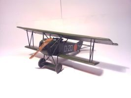 Dutch Fokker D.VII MLD 013 by BlokkStox