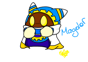 Magolor by Camichuriin