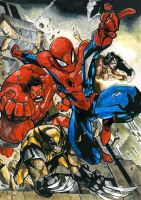 The Avenging Spider-man by 52antony