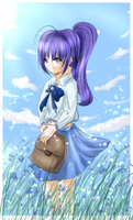 main character for my manga by blueangel5383
