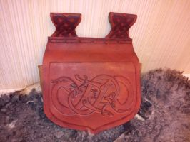 Norse leather belt bag 1 by Zarganath