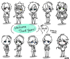 SC! Welcome Third Years! by AppleRawr27