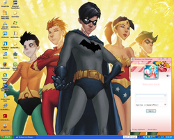 my desktop of awesome by Hi3ei