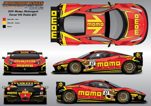 Momo Livery Contest by ArmageddonDesigns