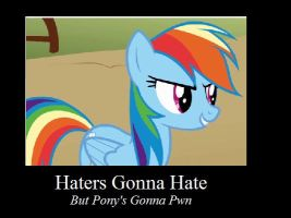 MLP: Haters Gonna Hate by xXDemkaBelikovXx