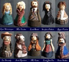 Golden Compass Figurines by Crayfish-Dibs