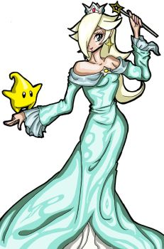 Rosalina-colored by Rena-Muffin