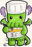 Cookin...with....Cthulhu!! by CuddlyCapes