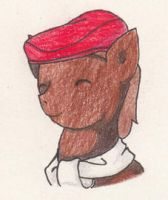 College Layton Pony by SamCyberCat