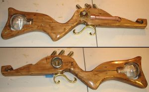 Steampunk Rifle WIP 2 by obi-wan8403