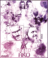 Rated RKO ~ Poster by MhMd-Batista
