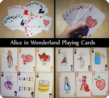 Alice in Wonderland Cards by Kaninano