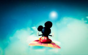 mickey mouse wallpaper by kamysweet