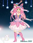 Magical Girl Sylveon... by DannimonDesigns