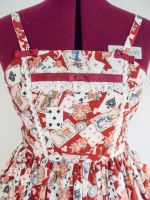 Alice Card Dress by sweetmildred