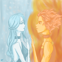 Fire And Ice by MochaRara