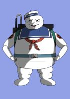 Stay Puft Marshmallow Man by PotteringAbout
