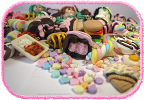 Clay Charms by Luna-Goodies