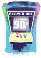 Player 1 of the 90s by Reuelboyi95