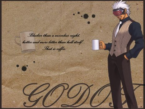 Godot Coffee Wallpaper by gndn47