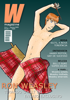 HP - W Magazine with Ron W. by Rapousa