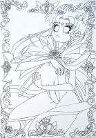 Sailor Moon lineart by Grazus