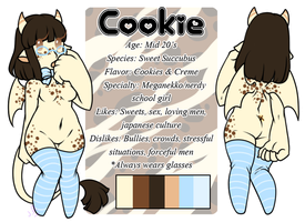 Cookie Reference Sheet by LovelessKia