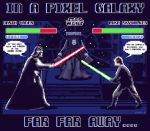 IN A PIXEL GALAXY FAR FAR AWAY by EddieHolly
