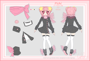 Pichi Reference Sheet by Trinity-In-Rainbows