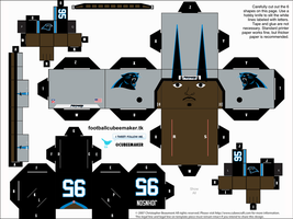 Charles Johnson Panthers Cubee by etchings13
