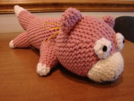 Slowpoke Amigurumi by cRochat-Creations