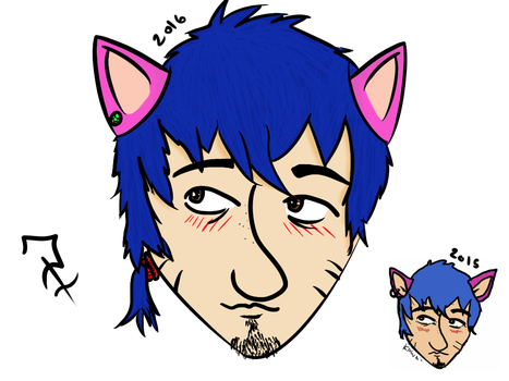 Draw this again: Nekko avatar Fick  2015 by polonortefick