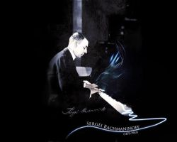 Sergei Rachmaninoff by chemicalrubber