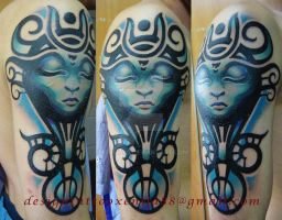 Tattoo - Tribal Girl by Xenija88