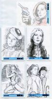 Sketch Cards: The Avengers 50th Anniversary - 5 by JasonShoemaker