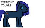 I made Midnight Colors from scratch! by lunacorn51