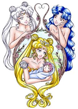 The Moon Family Tree by sailorangel