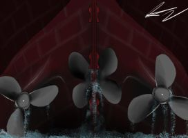 Titanics propellers by Admiral-Kevin
