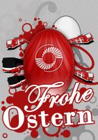 Frohe Ostern KVG by Write-Off