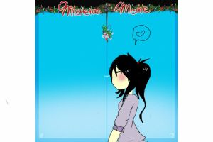 MISTLETOE THATS RLLY LATE by Ask-Insane-Zoey