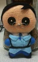 Team Fortress 2: Blu Medic Plushie by Jack-O-AllTrades