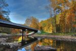 Autumn Bridge by Logicalx