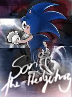 sonic the hedgehog by keywee